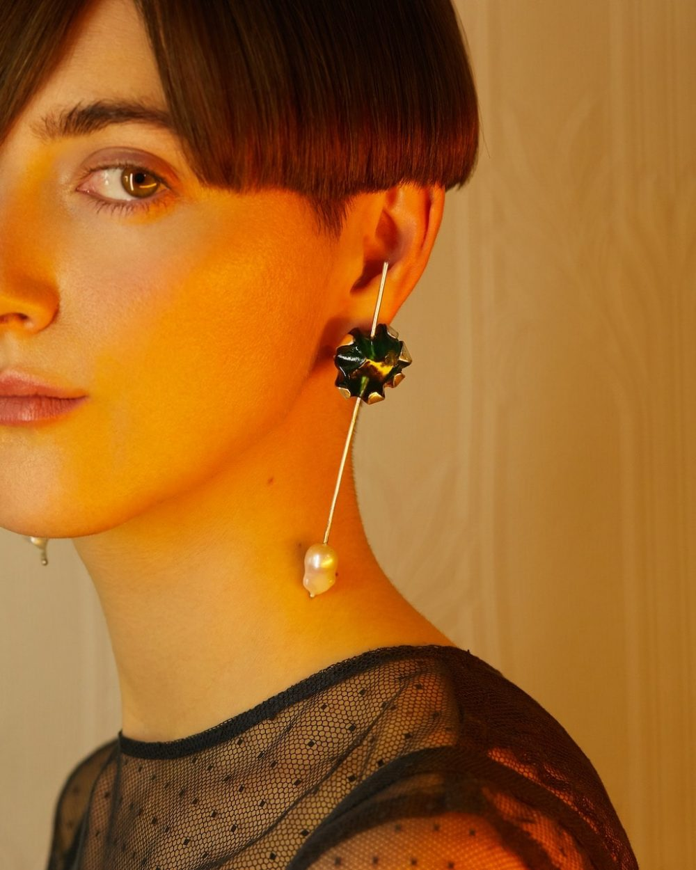 Von Fuerst for Madre Studio Tempo Earrings